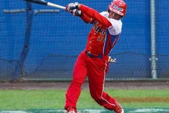 Yandder La O es un tercera base de 25 años y oriundo de la ciudad de Santiago de Cuba.