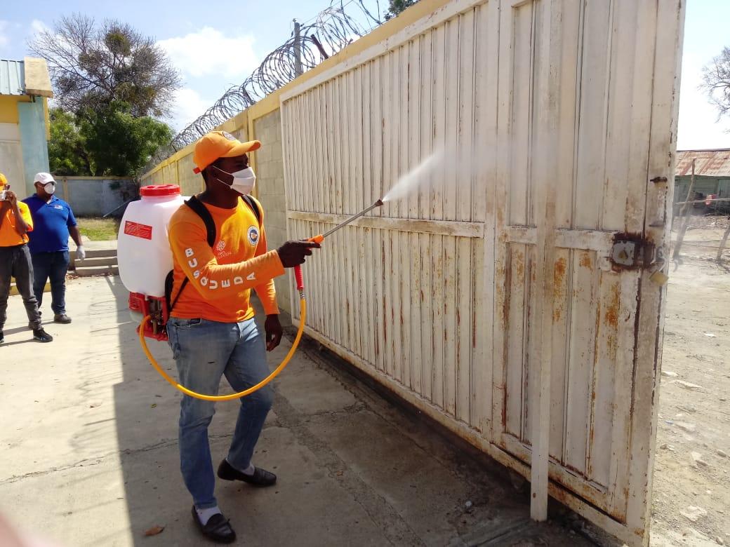 MINERD realiza jornada de fumigación, higienización y desinfección ...